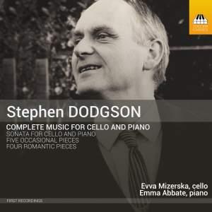 Dodgson: Chamber Music Vol. 1