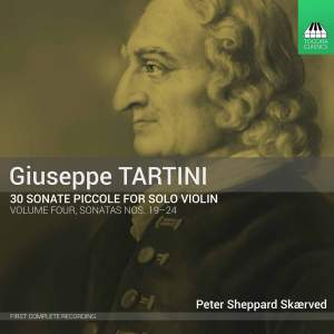 Tartini: 30 Sonate Piccole for Solo Violin Volume Four
