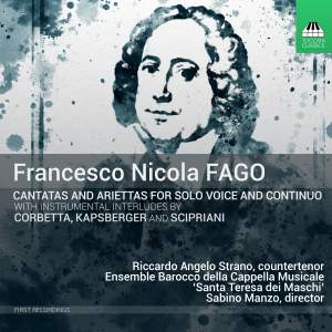 Nicola Fago: Cantatas for Solo Voice and Continuo