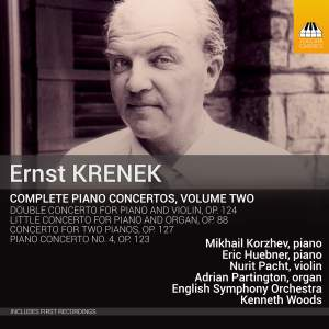 Ernst Krenek: Complete Piano Concertos Vol. Two