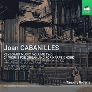 Joan Cabanilles: Keyboard Music, Volume 2