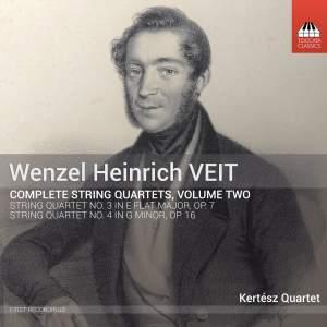 Veit: String Quartets, Vol. 2