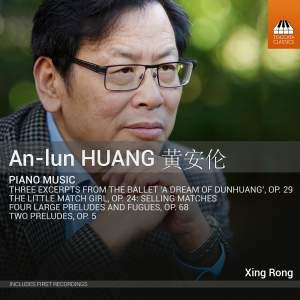 An-lun Huang: Piano Music