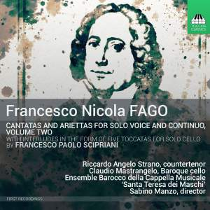 Fago: Cantatas for Solo Voice and Continuo Vol. 2 Product Image
