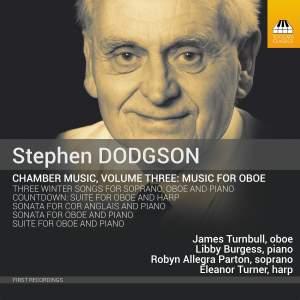 Dodgson: Chamber Music Vol. 3