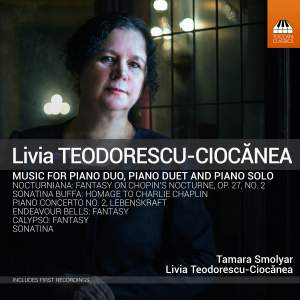 Teodorescu-Ciocanea: Piano Music