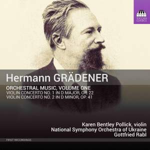 Hermann Grädener: Orchestral Music, Volume One Product Image