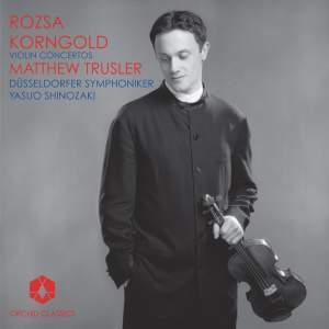Korngold & Rózsa - Violin Concertos