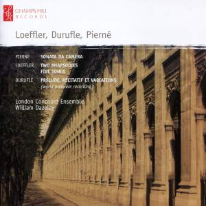 London Conchord Ensemble play Duruflé, Loeffler & Pierné Product Image