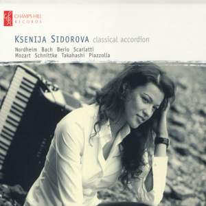 Ksenija Sidorova: Classical Accordion Product Image