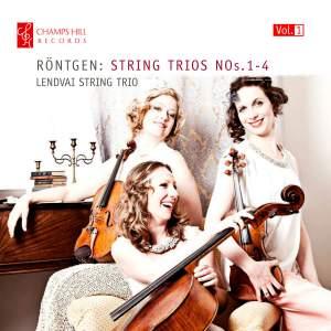 Röntgen: Complete String Trios Vol. 1