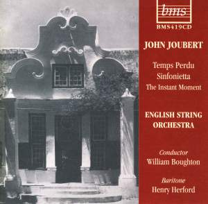 William Boughton conducts John Joubert