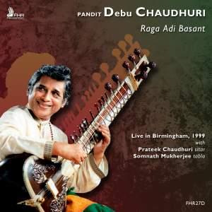 Pandit Debu Chaudhuri: Raga Adi Basant Product Image