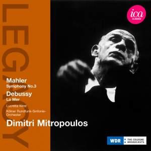 Dimitri Mitropoulos conducts Debussy & Mahler