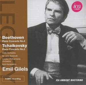 Emil Gilels plays Tchaikovsky & Beethoven