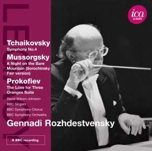 Gennadi Rozhdestvensky conducts Tchaikovsky, Mussorgsky & Prokofiev Product Image