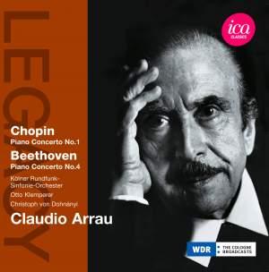 Claudio Arrau plays Chopin & Beethoven Product Image