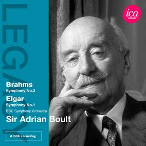 Sir Adrian Boult conducts Brahms & Elgar Product Image
