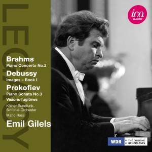 Emil Gilels plays Brahms, Debussy & Prokofiev Product Image