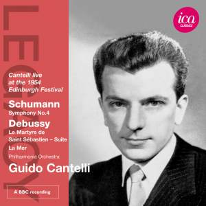 Guido Cantelli conducts Debussy & Schumann