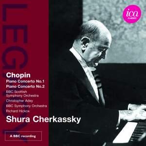 Shura Cherkassky plays Chopin Piano Concertos Product Image