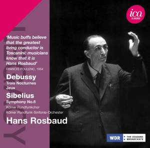 Hans Rosbaud conducts Debussy & Sibelius Product Image