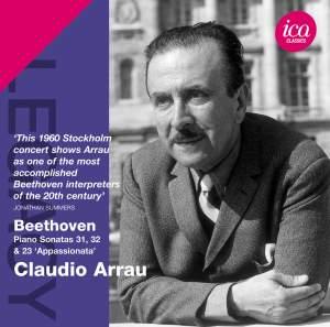 Claudio Arrau plays Beethoven Piano Sonatas