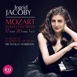Mozart: Piano Concertos Nos. 1, 17 & 20