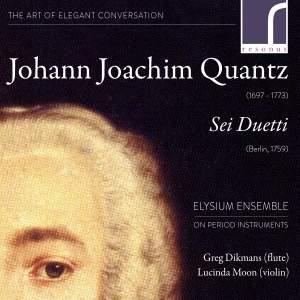 Johann Joachim Quantz: Sei Duetti, Op. 2