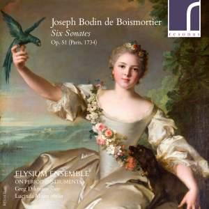 Boismortier: Sonatas for Violin and Flute Op. 51 Nos. 1-6