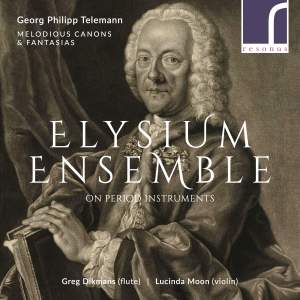 Telemann: Melodious Canons & Fantasias Product Image