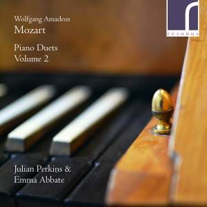 Mozart: Piano Duets, Vol. 2