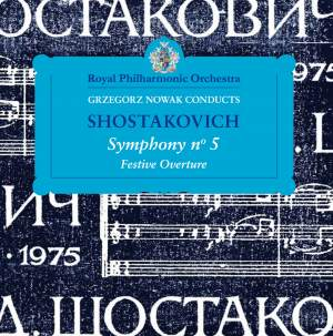 Grzegorz Nowak Conducts Shostakovich Product Image
