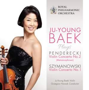 Ju-Young Baek plays Penderecki and Szymanowski