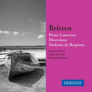 Britten: Piano Concerto & Diversions