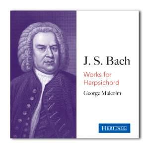 George Malcolm Plays Bach