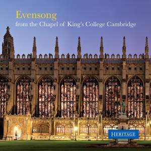 Evensong from King's College Cambridge Product Image