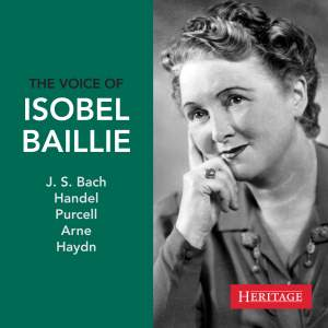 The Voice of Isobel Baillie Product Image