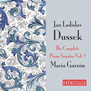 Jan Ladislav Dussek: The Complete Piano Sonatas Vol. 2 Product Image