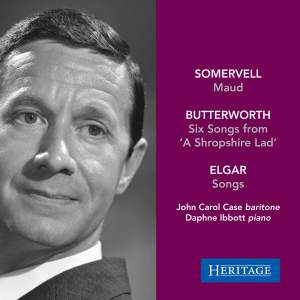John Carol Case sings Somervell, Butterworth and Elgar Product Image