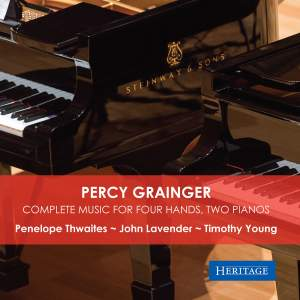 Percy Grainger: Complete Music for Four Hands, Two Pianos Product Image