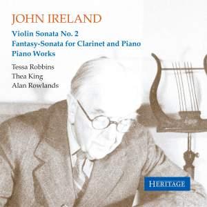 Ireland: Violin Sonata No. 2, Fantasy Sonata for Clarinet and Piano Product Image