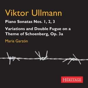 Victor Ullmann: Piano Sonatas Nos. 1-3 Product Image