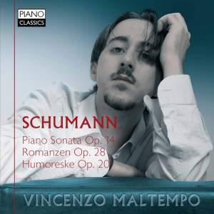 Schumann: Piano Sonata, Romanzen & Humoreske