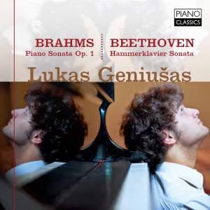 Brahms: Piano Sonata, Op. 1 & Beethoven: Hammerklavier Sonata