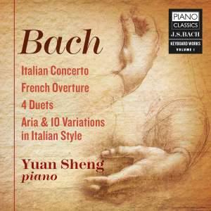 JS Bach: Keyboard Works Vol. 1