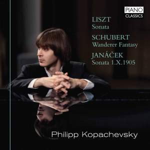 Liszt; Schubert & Janacek: Piano Works