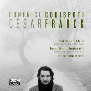 Domenico Codispoti plays Franck