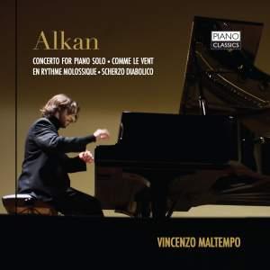 Alkan: Concerto for piano solo