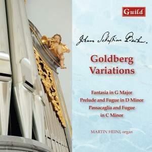 JS Bach: Goldberg Variations & Organ Works Product Image